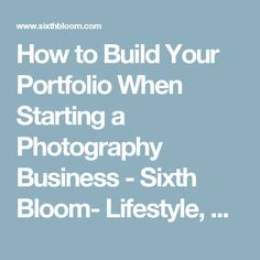 Free Tips & Tutorials For Starting a Photography Business - Photographer Overnight Starting Photography Business, Freelance Photography, Photography Basics, Photography Lessons, Photography Portfolio, Starting A Business, Lifestyle Photography, Camera Life, Free Tips