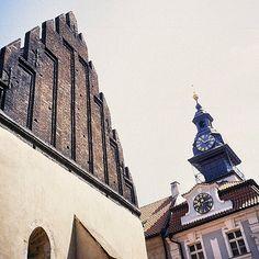 #Altneuschul, or the Old New #Synagogue in #Prague, #CzechRepublic is #Europe's oldest active synagogue. Photo: Michel Behar #EuropeTravelwithMIR #traveleurope #instapassport #seetheworld #jewishheritage #architecture #tourism #travel #wanderlust #easterneurope #centraleurope #travelgram