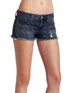Frankie B. Womens Punkster Denim Short, Monaco, 32 Frankie B.. $121.00. 3 inches inseam. 98% cotton/2% spandex. For best results dry clean only or machine wash cold insideout. do not bleach, tumble dry low. warm iron if needed.. 7 1/8 inches  front rise 11 1/8 inches  back rise