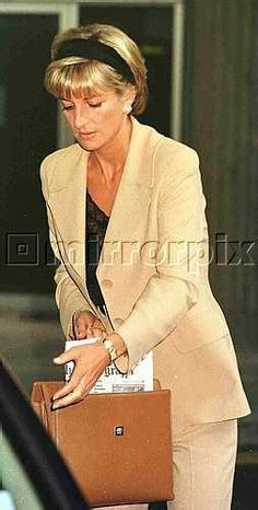 June 23, 1997: Diana, Princess of Wales at the Carlyle in New York City for the Christies' Auction.