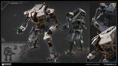 ArtStation - Reaper - Titanfall 2, Brian Burrell