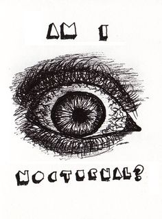 drawing of the eye depicting the period when i was sleeping during the day and stay up all night like a night owl During The Day, Stay Up, Night Owl, Period, Sleep, Tapestry, Illustrations, Eye, Drawings