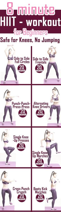 HIIT for Beginners - Safe for Knees, NO Jumping