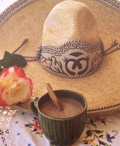 A Little Cup of Mexican Hot Chocolate - great Mexican recipes
