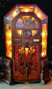 Vintage Wurlitzer jukebox