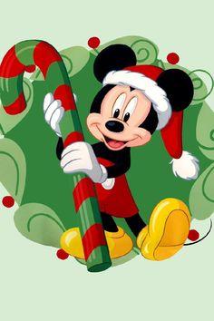 Mickey 's Christmas, hello Disney World. Mickey Minnie Mouse, Photos Mickey Mouse, Mickey Love, Mickey Mouse Christmas, Disney Mouse, Mickey Mouse And Friends, Merry Christmas, Christmas Candy, Retro Disney