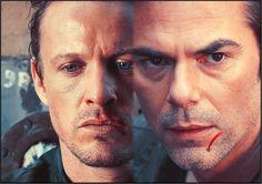 NBC Revolution: David Lyons and Billy Burke.