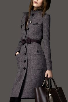 Long section cashmere woolen coat: Love it