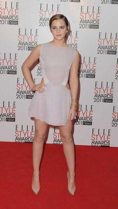 Emma Watson Sexiest, Emma Watson Beautiful, Beautiful Celebrities, Beautiful Actresses, Ema Watson, Elle Style Awards, Girls In Mini Skirts, Sexy Legs, Celebs