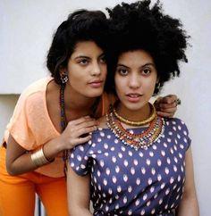""""""" French Afro-Cuban twin sisters, Ibeyi. """""""