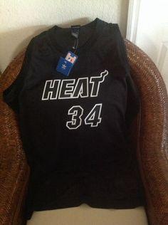 Miami Heat RAY ALLEN #34 Adidas NBA black jersey NWT Size L Lenght+2 Mens in Sports Mem, Cards & Fan Shop, Fan Apparel & Souvenirs, Basketball-NBA | eBay
