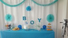 Baby Shower ♡ Party ♡ Deko ♡ Boy