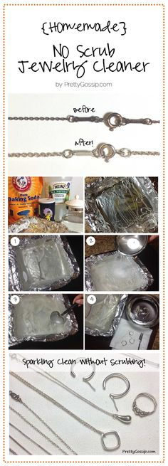 Pretty Gossip Jewelry Cleaner Tutorial