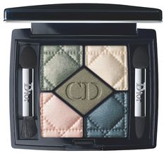Dior 5 Couleurs Eyeshadow Palette in #456 Jardin; these colors are stunning!