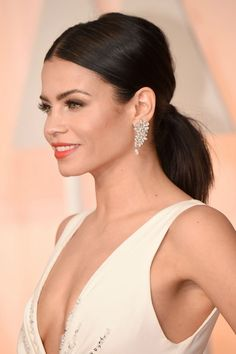 Jenna Dewan-Tatum's low ponytail at the Oscars