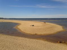 The sandy west coast of Finland, this one from the sand dunes of Kalajoki