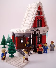Lego Christmas Winter Village: