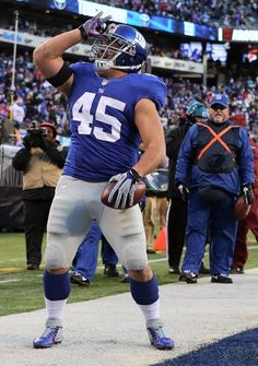 New York Giants Henry Hynoski   #45 FB