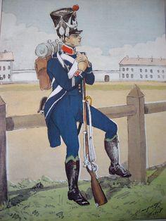 Chasseur 7e Léger 1809