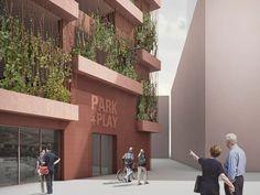 Pensando em minimizar o impacto causado pelos veículos particulares, a JAJA Architects, empresa de arquitetura de Copenhague, Dinamarca, desenvolveu um projeto que faz das garagens mais do um local para deixar os carros.