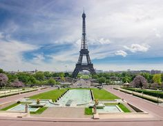 Paris attractions - Trocadero Square
