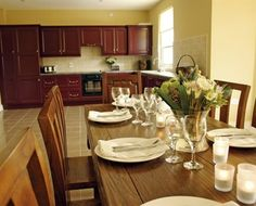 Nice kitchen in a town house in Castle Leslie Estate (Ireland) - Campaya