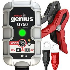 Noco Genius G750 6V/12V .75A Ultrasafe Smart Battery Charger, 2015 Amazon Top Rated Jump Starters, Battery Chargers & Portable Power #AutomotivePartsandAccessories