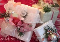Easy & Elegant gift wrapping.....Presents with Presence!