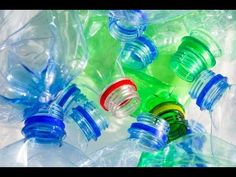 diy\how to make use of waste plastic bottles in home/hair clips organizer - YouTube
