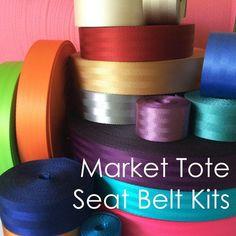 SMALL - Market Tote Seat Belt Webbing Kit