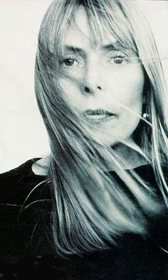 Joni Mitchell. Because I could drink a case of you and still be on my feet.