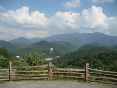 Smoky Mountains. The place I was proposed to at.