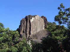 Big stone at Serra do Cipó National Park, Serra do Cipo, Minas Gerais, Brazil; photo by edbemst