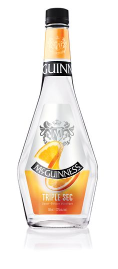 """Sec means """"dry"""" in French and """"triple"""" suggests three times as dry. McGuinness® Triple Sec is also three times as delicious when added to your favourite cocktail — it's no wonder so many people fall in love with this flavour! Classic Cocktails, Summer Cocktails, Peach Drinks, Peach Schnapps, Cocktail Ingredients, People Fall In Love, Triple Sec, Sangria, Guinness"""