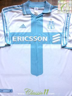 Relive Marseille's 2000/2001 season with this vintage Adidas home football shirt.