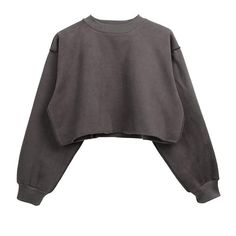Raw Detail Crop Sweater ($45) ❤ liked on Polyvore featuring tops, sweaters, sleeve top, long-sleeve crop tops, crop top, cut-out crop tops and cropped sweaters