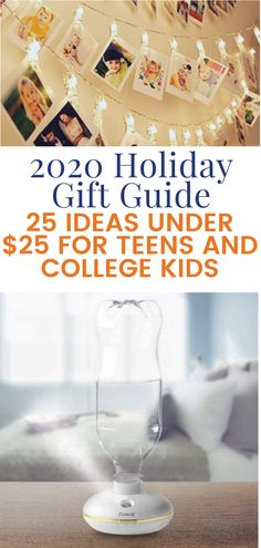 Looking for inspiration for less expensive presents for a teen or college kid? Take a look at our Holiday Gift Guide, all at a price point that won't break the bank. Nothing here is over $25. Holiday Gift Guide, Holiday Gifts, Christmas Gifts, Dorm Life, Parenting Teens, College, Kids, Infants, Christmas Presents