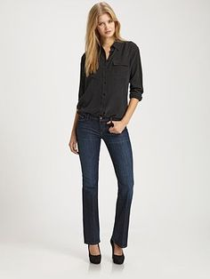Citizens Dita Petite Bootcut Jeans. Have one pair, need another. Fit great and don't have to alter.