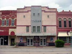 Texas Theatre, Waxahachie, TX.