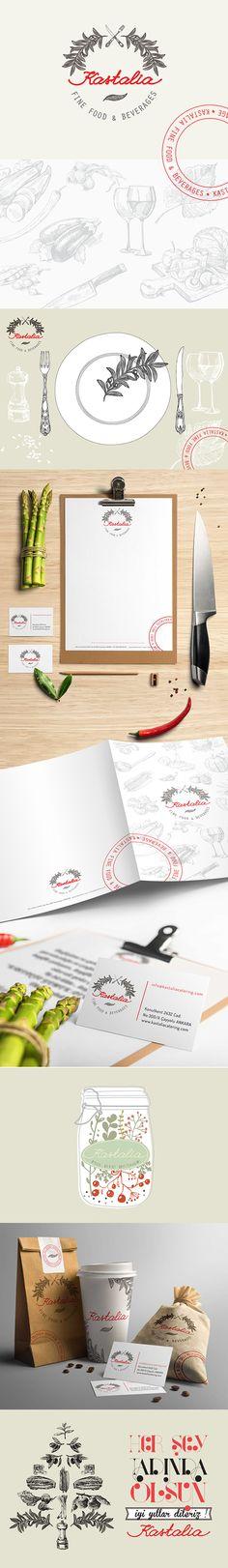 Kastalia on Behance , Designed by Neslihan GÖKÇE #branding #logotype