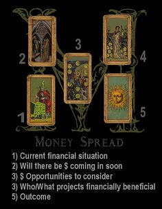 tarotbyseven | FREE Spreads | Financial Tarot Spread | Money Layout | Oracle Cards | Divination | Business Opportunity Reading | Card Fortune Telling | Cartomancy