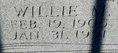 Willie May <i>RIDENS</i> Turnham