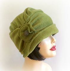 Cloche Hat Flapper Style Fall through Spring by TheWaughdrobe, $79.50