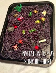 Adventures at home with Mum: Slimy Sensory Bug Play