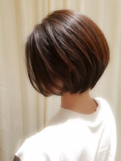 【VIRGO】40代 50代◎サラサラ質感の大人ナチュラルショートボブ/VIRGO 【ウィルゴ】をご紹介。2018年春夏の最新ヘアスタイルを300万点以上掲載!ミディアム、ショート、ボブなど豊富な条件でヘアスタイル・髪型・アレンジをチェック。