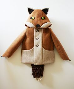 Kids Fantastic Little Fox Coat van littlegoodall op Etsy