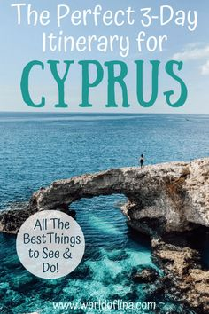 Heading to Cyprus for only three days? Here's the perfect 3-day Cyprus itinerary including all the best things to see and do in a short time. Troodos Mountains tour, natural arches, sea caves and more! #cyprus #itinerary #europe