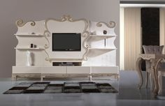 Powder Tv Unit - TV Stands - FurnitureFromTurkey.Com