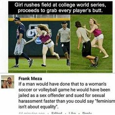 Imagine a man doing that at a softball game. @the_teenage_conservative 🔫 @conservative_norcal 🌴 @usa_ohio_constitutionalist 🇺🇸 @conservative.american2016 🐘 @americanprincess 👑 @nationalismusa 📻  #MAGA #Trump #Trump2016 #GOP #conservative #liberal #Hillary #Hillary2016 #blm #antiblm #america #progun #johnson #johnson2016 #antigun #politics #politicalscience #cnn #foxnews #cbs #msnbc
