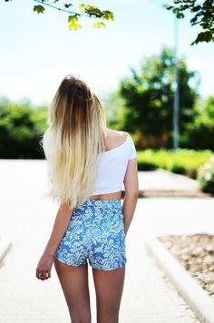 Shop this look on Kaleidoscope (shorts, shirt)  http://kalei.do/Wu6PMSalVUJwYdM1